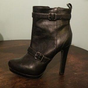 Vera Wang black boots size 8